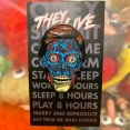 THEY LIVE ALIEN ピンズ(ピンバッジ)
