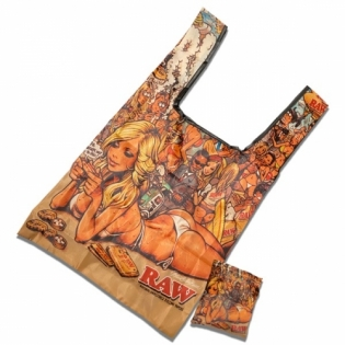 RAW GIRL SUMMER FOLDABLE ECO BAG(エコバッグ)