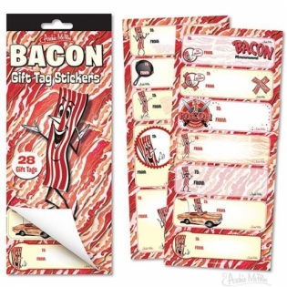 MR. BACON GIFT TAG STICKERS(ミスターベーコン ギフトタグ シール)